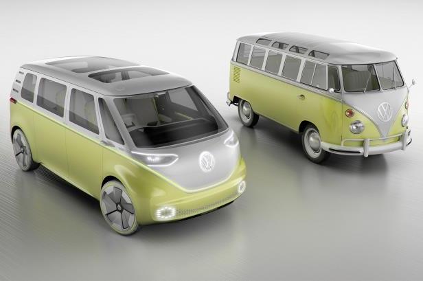 Volkswagen Showcased The Next Generation Mpv I D Buzz