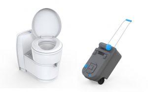 Revealing the new cassette toilet Thetford C220
