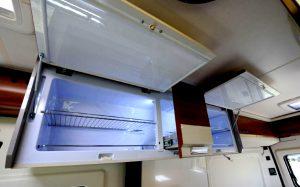 The new Slim Line fridge in the Hobby Vantana 2017 range