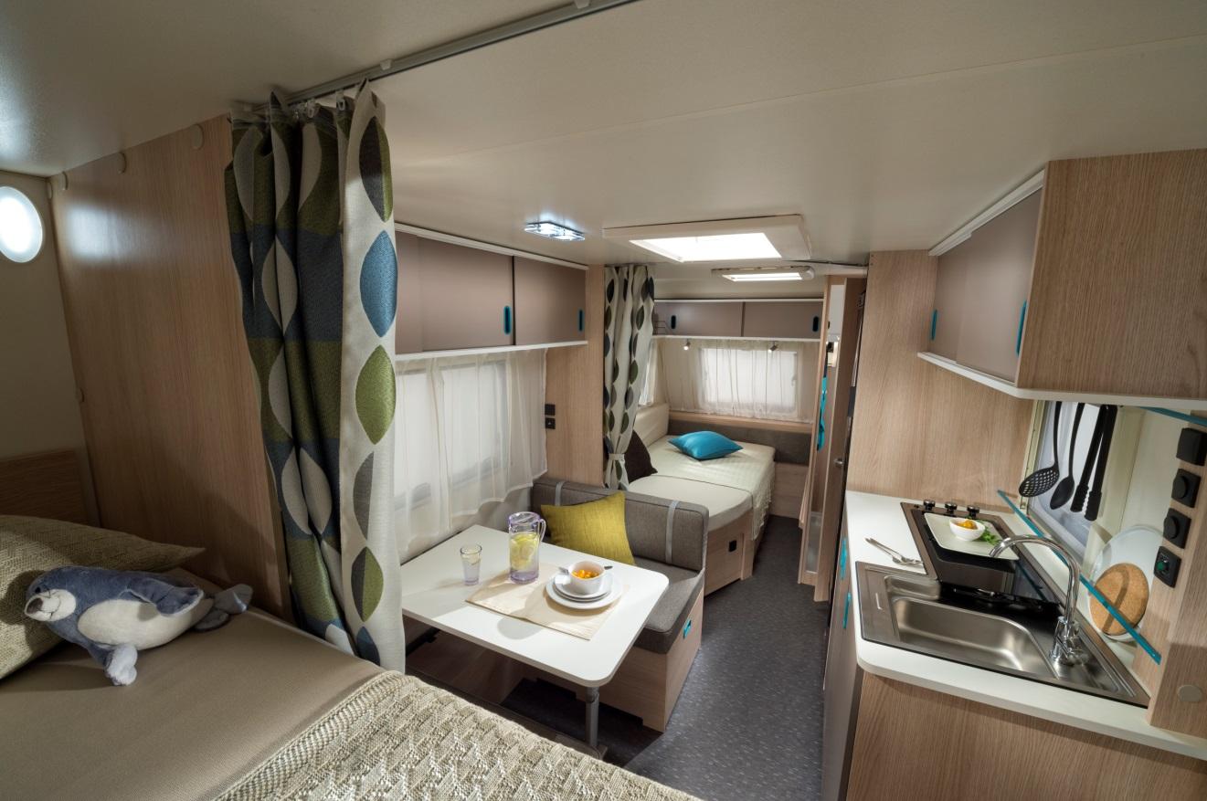 IKEA is welcome on board of the new Adria Aviva caravan range ...
