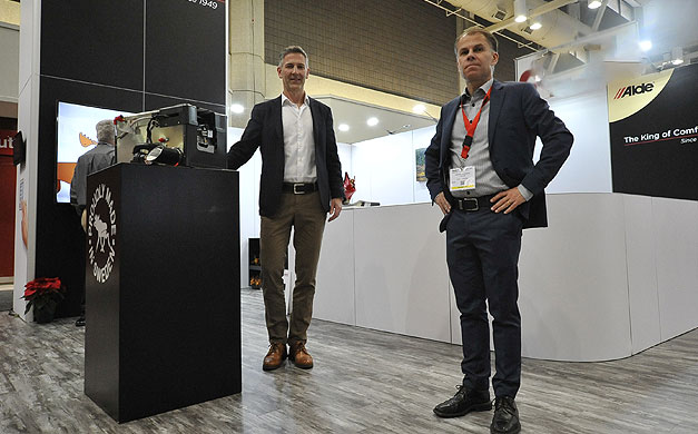 On the left: Tomas Haglund CEO and Managing Director On the right: Håkan Streimer, Sales & Marketing Manager