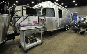 National RV Trade Show 2016: Alde is now mounted also on Airstream