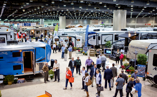 Image result for rv trade show