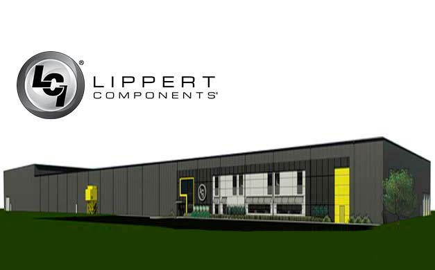 Lippert Components opens a new beam processing center
