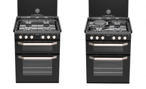 The Thetford K1520 cooker is lighter and more convenient to use