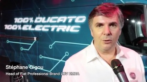 100% Ducato and 100% Electric