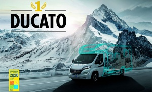 """Fiat Ducato named """"Best Motorhome Base Vehicle"""" for 13th year running"""