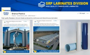 Brianza Plastica creates LinkedIn page to share information with the flat laminates sector