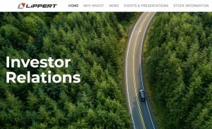 Record sales reported by Lippert Components in fourth quarter and full year of 2020