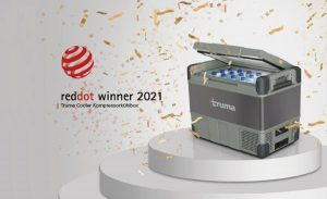 Truma wins reddot design award for new portable cooler