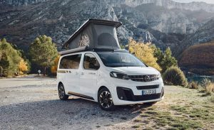 Compact vans with pop-up roofs