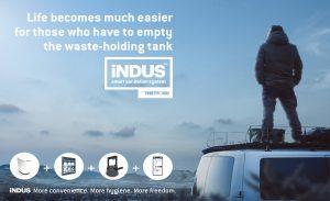 Thetford iNDUS smart sanitation system wins Red Dot Product Design Award