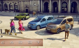 New active and passive safety features make fifth-generation Volkswagen Caddy safer and easier to drive