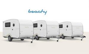 Hobby announces lightweight BEACHY caravan range aimed at newcomers