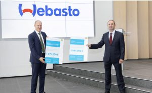 Webasto receives €6 million funding from the Free State of Bavaria to develop mobility technologies