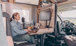 Sunlight develops 'Home Office on Wheels' project for motorhomes