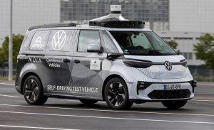 Volkswagen presents first ID.Buzz autonomous driving prototype