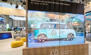 Volkswagen Commercial Vehicles shows the future of transport at the ITS World Congress: the self-driving Volkswagen ID. BUZZ that will launch in Hamburg in 2025